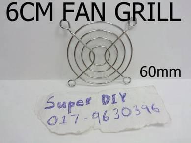 60*60mm 6cm fan protective grill metal fan guard