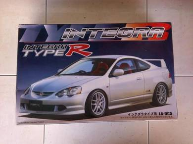 1-24 honda integra type-r dc5 car kit