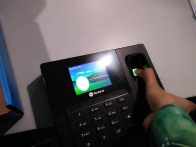 Fingerprint punch card clock thumbprint attendance