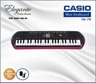 CASIO SA-78 Mini keyboard (Last Unit)