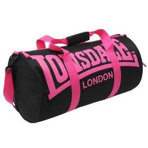 Lonsdale Barrel Bag gym sport bag black pink ori