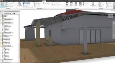 Surau design - 3d modelling