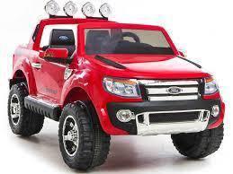 Red kids eletrick ford ranger
