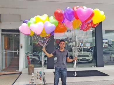 247) Love Shape Balloon Surprise