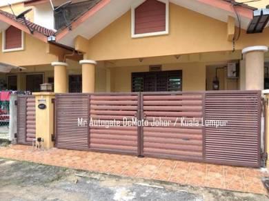 Jb Auto Gate Kota tinggi Autogate system Murah no1