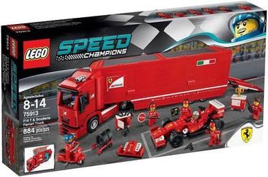 LEGO 75913 F14T & Scuderia Ferrari Truck