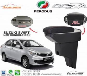 Perodua Bezza USB Armrest Console Box USB Arm Rest