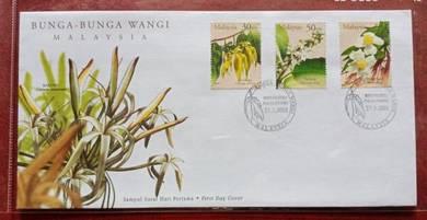 FDC Bunga-Bunga Wangi Malaysia 2001