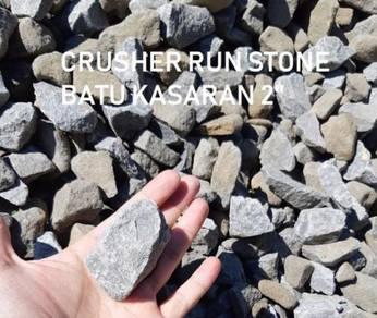 Batu kasaran 3 suku garden topsoil pasir tanah