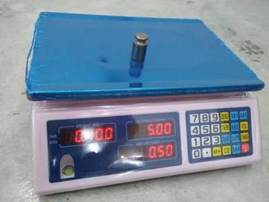 Weighing scale timbang digital 30kg + lesen kpdnkk