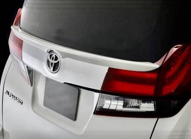 Alphard 15 - 20 boot wing tail spoiler admiration