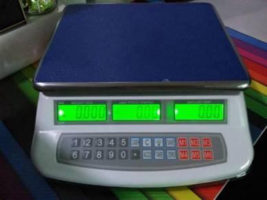 Electronic weighing price scale 30kg timbang