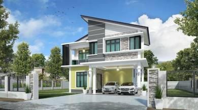 Kontraktor Bina Rumah Atas Tanah Sendiri Dungun