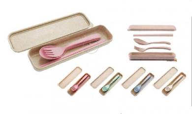 BPA free Cutlery set with box