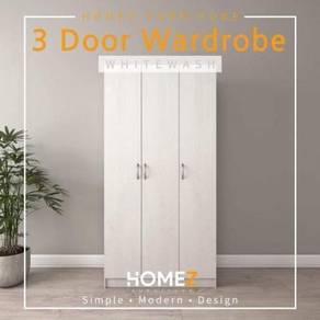 Wardrobe (3 pintu)