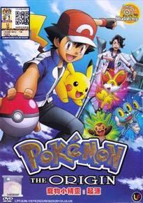 DVD ANIME POKEMON The Origin Pocket Monsters