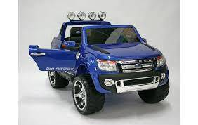 Blue kids letrcik ford ranger