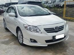 TOYOTA ALTIS 11 abs bodykit spoiler without paint