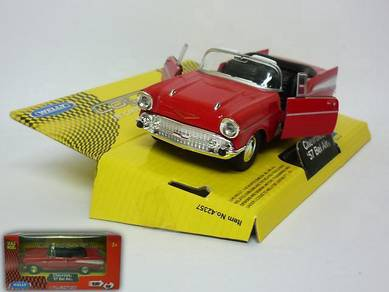 Chevrolet '57 bel air 1/38 classic car - red