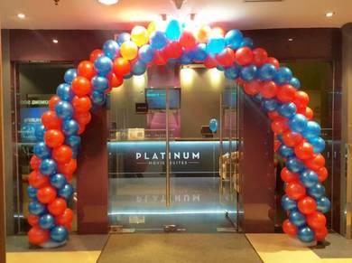 Arch Balloon Entrance 00016