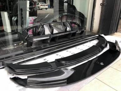 BMW F10 Hamann Carbon Fiber Front Lip