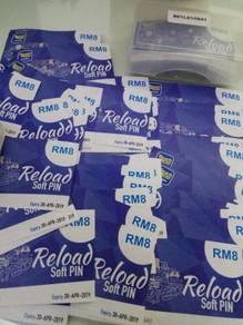 Touch n go ewallet free percuma reload pin