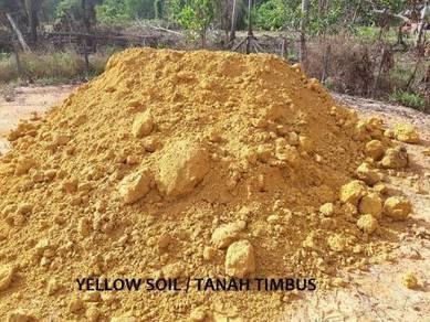 Tanah timbus batu 3 suku garden topsoil pasir sand