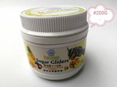 Kawan Sugar Glider 200g Nutritious Fruit Complex
