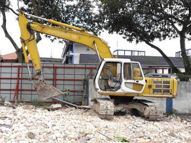 Excavator Backhoe Jcb Case Turfing Site Clearing