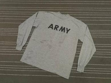 Army long sleeve vintage xxl