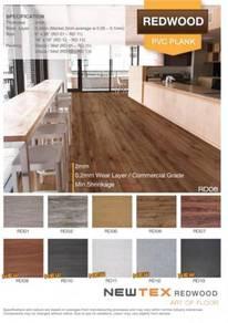 Supply & installation of Vinyl PVC Flooring