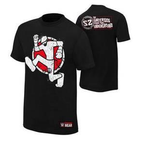 WWE WWF Shirt Sami Zyan Underground Underdog Baju