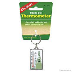 17RAG COGHLANS Zipper Pull Thermometer
