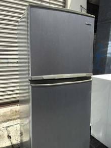 Grey 2 Pintu Fridge Refrigerator Peti Ais Samsung