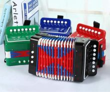 Mini Accordion 17 Keys (8 bass)