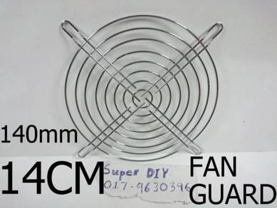 140mm 14cm fan protective grill metal fan guard