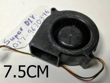 24V turbine fan magnetic cooling fan 75*75*30mm