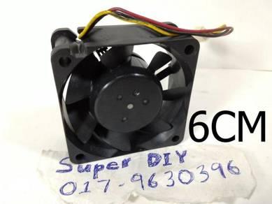 24V Bearing magnetic cooling fan DIY 60*60*25mm