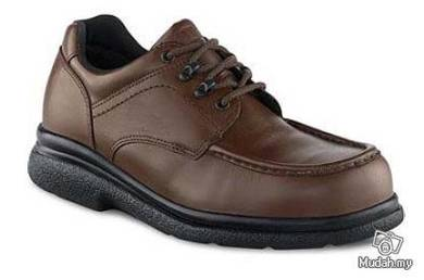 Safety Shoes Red Wing Men Oxford Brown SD ST 6659