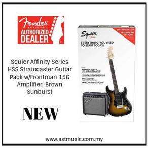 Fender Squier Affinity HSS Electric Guitar Pack