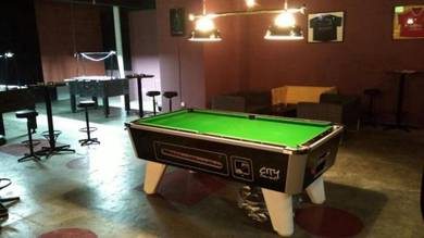 7ft City British Pool Table