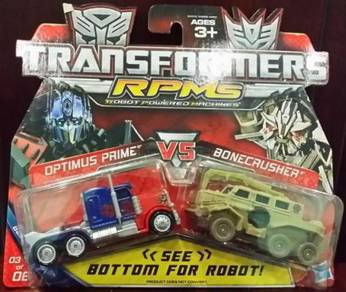Transformers RPMG - Optimus + Bonecrusher