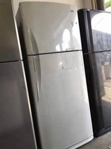 Samsung Big Fridge 2 doors Refrigerator Peti Sejuk
