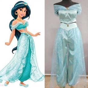 Aladdin Princess Jasmine cosplay costume RBC0031