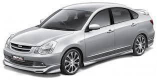 Nissan sylphy abs bodykit spoiler without paint