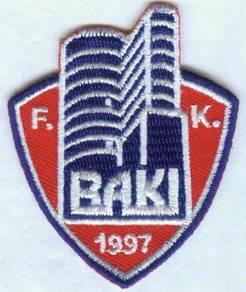 Football Club FC Baku Azerbaijani Azerbaijan Patch