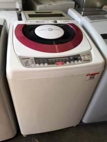 Toshiba 9kg Round Mesin Basuh Washing Machine Auto