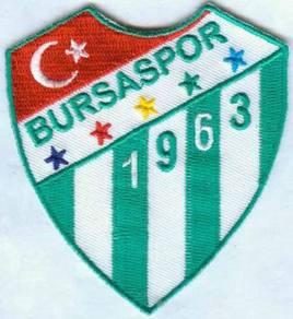 Bursaspor Turkish Turkey Football Badge Patch