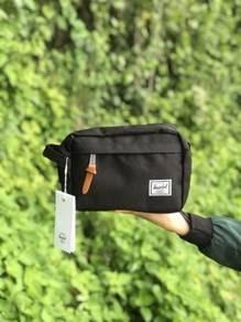 Herschel exclusive clutch wallet grey, blue black