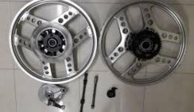 Rim and parts motor